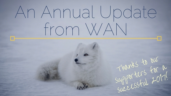 An Annual Update from WAN