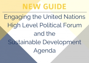 WAN Releases New Guidance on Engaging the UN's Sustainable Development Agenda