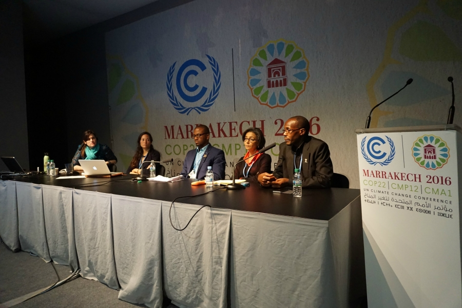Updates from COP22 in Marrakech, Morocco