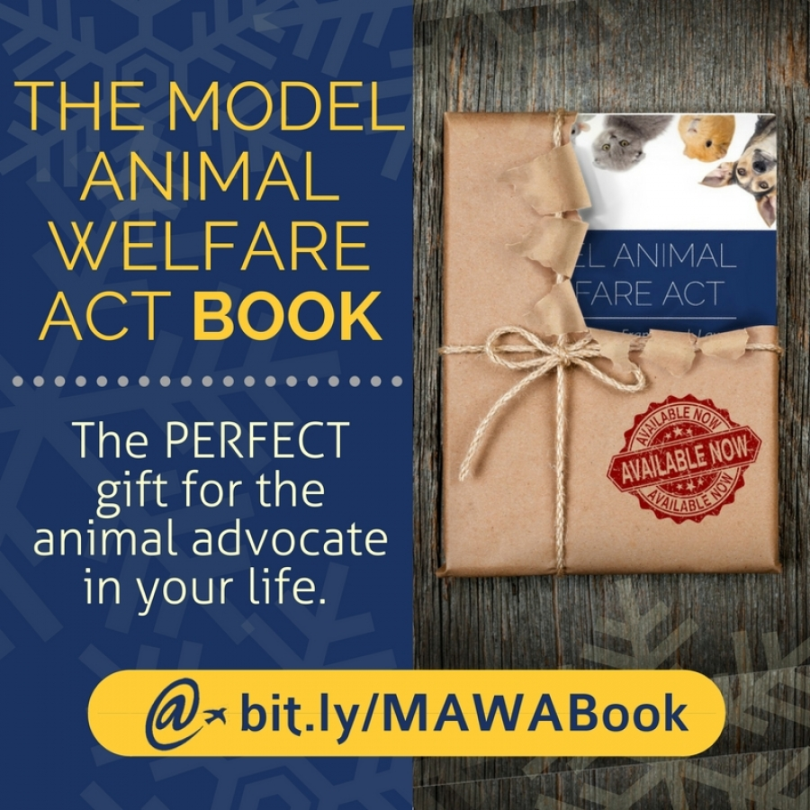 The Model Animal Welfare Act Book is Now Available—And It's the Perfect Gift