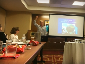 WAN's Janice Cox Presents at the National Council for Animal Protection's Summit for the Animals in Washington, D.C.