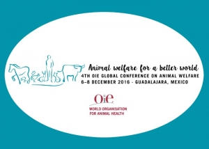 Reminder: World Organisation for Animal Health (OIE) 4th Global Animal Welfare Conference