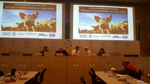 World Animal Net Sponsors Event at the World Trade Organization's Public Forum on World Animal Day