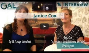 WAN's Janice Cox Interviewed by Global Animal Law (GAL)