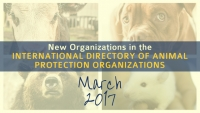 New Organizations in the World Animal Net Directory