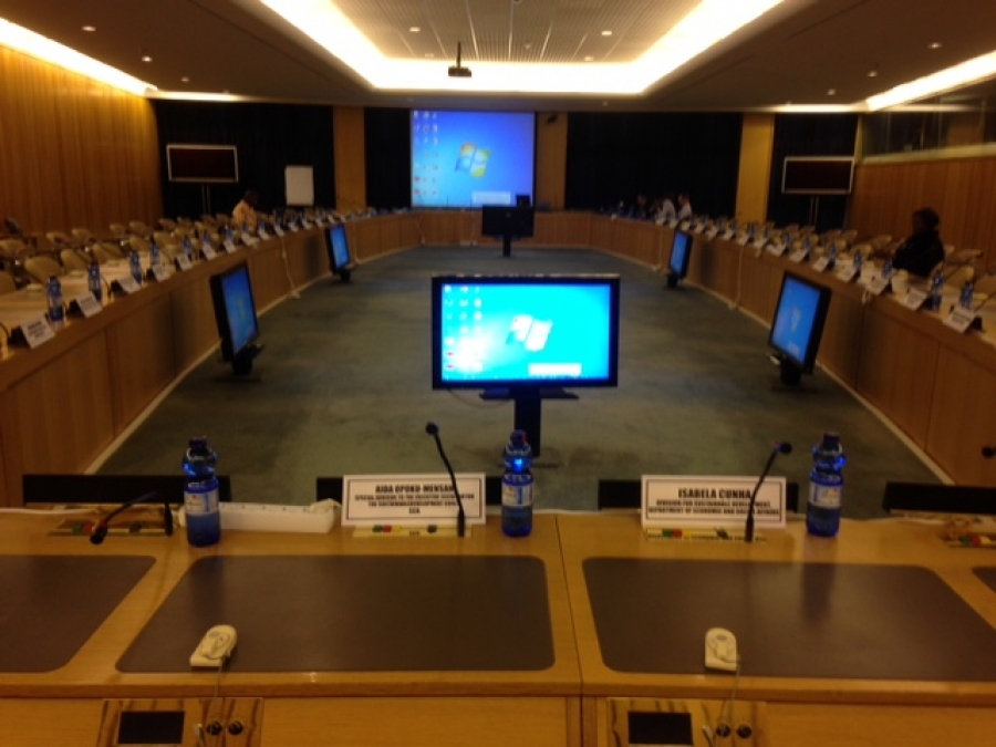 Major Groups and Other Stakeholders Meeting Room at UNECA